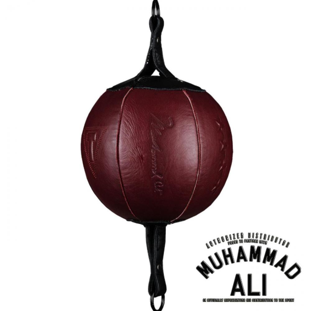 Пневмогруша на резинках TITLE ALI Authentic Leather Double End Bag