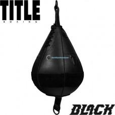 Пневмогруша на резинках Title Black Double End Bag 2.0