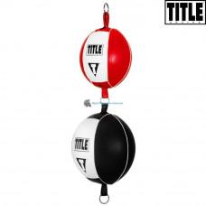 Пневмогруша двойная на растяжках TITLE Boxing Up & Down Double End Bag