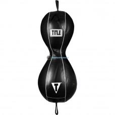 Пневмогруша на растяжках TITLE Mexican Style 2-in-1 Double End Bag